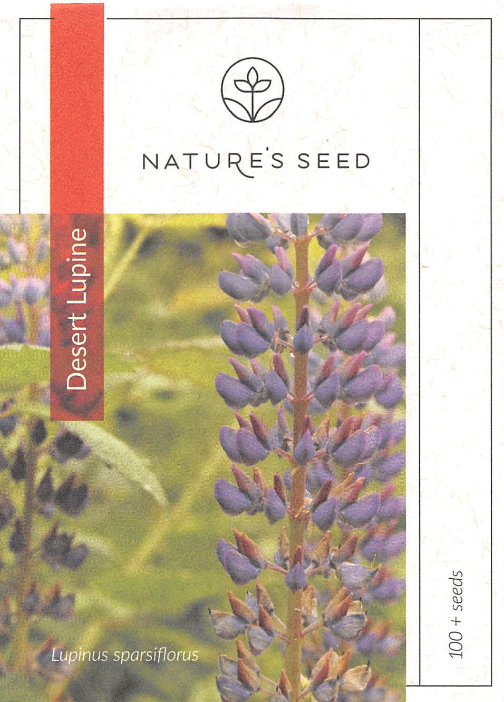 Purple Desert Lupine Wildflower Seed Nature S Seed