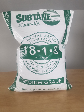 Organic Maintenance Fertilizer 18-1-8+fe