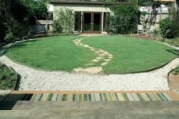 buffalograss lawn in California