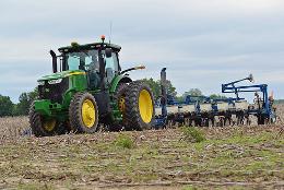 no till farming by United Soybean Board